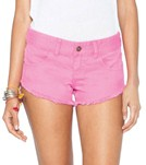 Billabong Laneway Pick Me Up Pink Denim Short