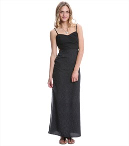 Hurley Women's Paige Cut Out Maxi Dress