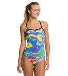 sporti-spiffiez-abstract-thin-strap-swimsuit