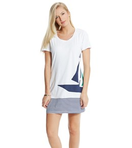 Tommy Bahama Sailboat T-Shirt Dress