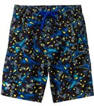 TYR Boys' Nightflight Challenger Swim Trunk (4yrs-18yrs)