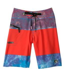 Volcom Boys' Linear Mod Boardshort (8-20)
