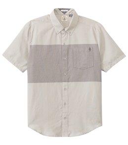 Volcom Men's Weirdoh Big Stripe S/S Shirt