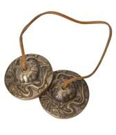 Sacred Space Med Dragon Meditation Tibetan Gong Tingsha Cymbals