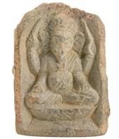 Yak & Yeti Stone Ganesh Statue