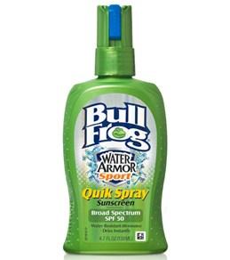 BullFrog Water Armor Sport SPF 50 Quick Spray