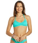 Lo Swim Women's Three Braid Training Bikini Swimsuit Bikini Top w/ Free Hair Tie