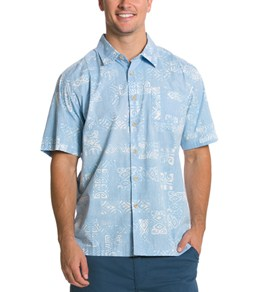Quiksilver Waterman's Tiki Tapa S/S Shirt