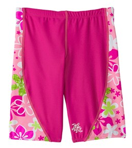 Tuga Girls' Happy Hibiscus Jammers (2-14yrs)