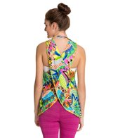 Trina Turk Bora Bora Draped Cross Back Tank