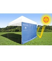 ezShade 8' Canopy Curtain Straight Leg Beach Tent
