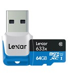 Lexar 64GB High Performance microSDXC/microSDXC UHS-1 Card