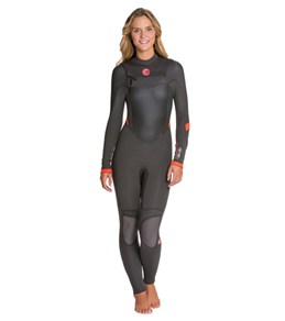 Billabong Women's 403 Synergy EZ Chest Zip Steamer Fullsuit