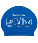Sporti Win Latex Swim Cap