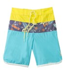 Tiger Joe Boys' Skeleton Island Retro Boardie Shorts (6mos-10yrs)