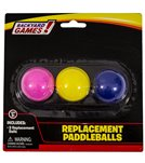 Wham-O Replacement Paddleballs Blister Card Packaging