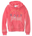 Roxy Girls' Brookyn Zip Front Hoodie (8-16)