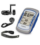 Garmin Edge 500 Bike Computer Bundle- Blue