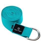 Hugger Mugger D-Ring Cotton Yoga Strap 10'
