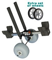 Wheeleez Inc SUP Cart-Single with Polyurethane Wheels
