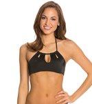 Peixoto Swimwear Tamarin High Neck Bikini Top