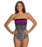 Maxine In The Groove Bandeau One Piece Swimsuit