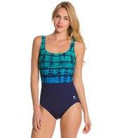 TYR Fitness Bondi Beach Aqua Controlfit One Piece
