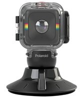Polaroid Cube Waterproof Housing & Suction Mount