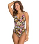 Penbrooke Piccadilly V-Neck Mio One Piece Swimsuit