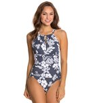 Penbrooke Second Nature Hi Neck Mio One Piece Swimsuit