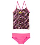 Nike Girls' Pixel Party V-Back Tankini Set (7-14)