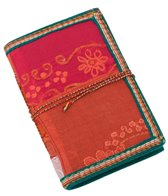 Homeport Textile Notebook, Red, Medium
