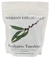 Herban Essentials Eucalyptus Towelettes