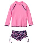 Seafolly Girls Rosie Lane UV Sunvest Set (6mos-7yrs)