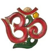 Yak & Yeti Red Sanskrit Om 8