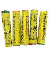 Yak & Yeti Pack of 5 Prayer Flags Medium