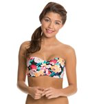Body Glove Swimwear Sanctuary Glow Underwire Push Up Bandeau Bikini Top