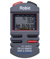 Robic SC-848W 300 Dual Memory Stopwatch with Speed Timer