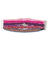 Bamboo Trading Co Bossa Bracelet Bright Pink