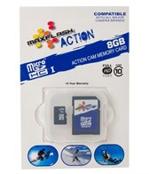 Prime Memory Solutions 8GB Action Micro SDHC Memory Card