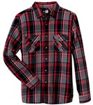 Rip Curl Men's Bunkers Long Sleeve Flannel