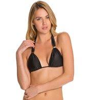 Vix Solid Black Bia Tube Bikini Top