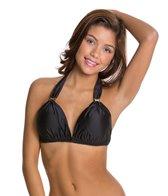 Vix Solid Black Bia D-Cup Tube Bikini Top