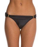 Vix Solid Black Bia Tube Bikini Bottom