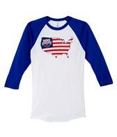 USA Swimming Unisex Liberty Raglan T-Shirt