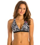 Champion Heritage Surf Network V-neck Swim Bra