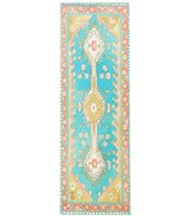 Magic Carpet Traditional Turquoise Thick Yoga Mat