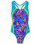 Speedo Girls' Dynamic Love Sport Splice One Piece (7yrs-16yrs)