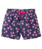 98 Coast Av. Boys' Crazy Pink Star Swim Trunks (1-12yrs)