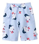 iPlay Boys' Pirate Mod Ultimate Swim Diaper Pocket Trunks (3mo-4yrs)